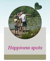 Happiness spots